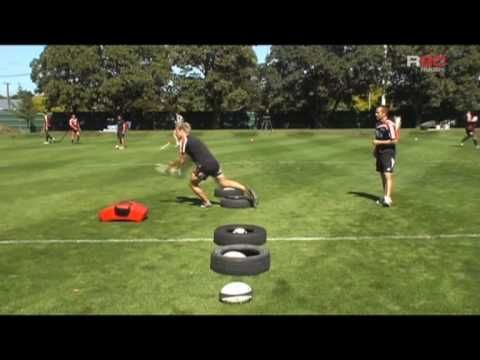 R80 Rugby Coaching: Halfback Passing Drill - YouTube