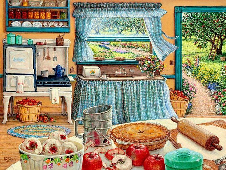 Нежность, счастье и легкая ностальгия в работах Жанет Крускамп . Обсуждение на LiveInternet - Российский Сервис Онлайн-Дневников