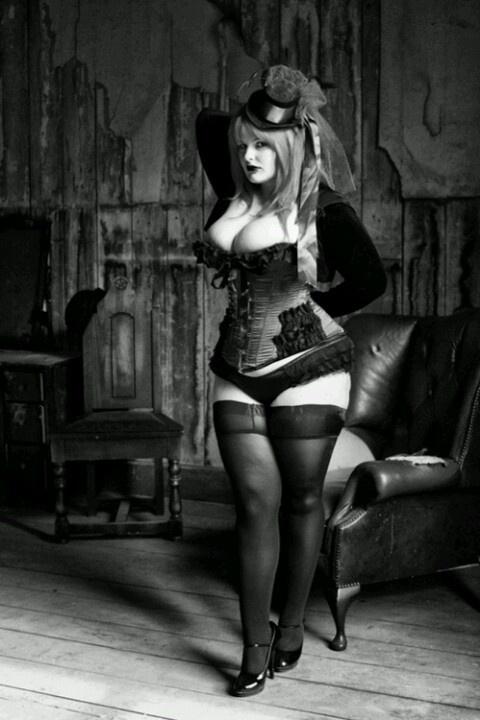 Tall thin goth girls