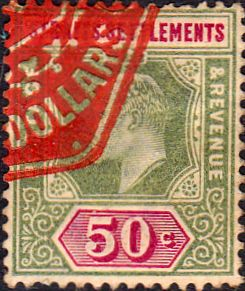 Straits Settlements 1902 King Edward VII SG 115 Fine Fine Used Scott 98 Other Malay Straits Stamps HERE