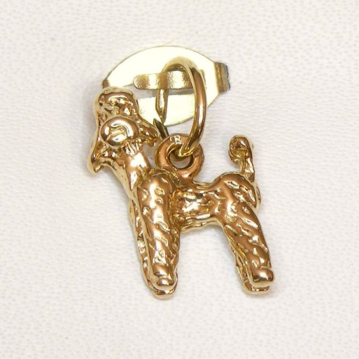 Buy Dog (poodle) Charm (chr-0478) online at Chain Me Up