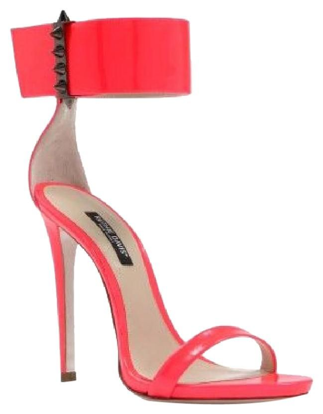 Ruthie Davis Lucy Watermelon Flourescent Sandals. Get the must-have sandals of this season! These Ruthie Davis Lucy Watermelon Flourescent Sandals are a top 10 member favorite on Tradesy. Save on yours before they're sold out!