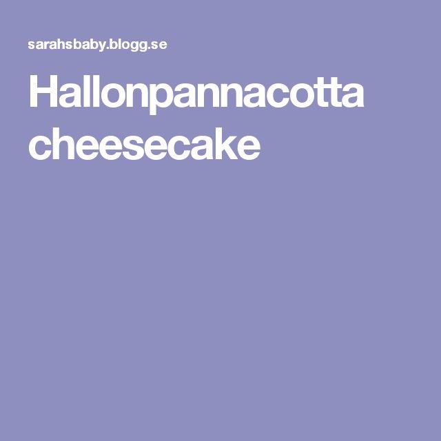 Hallonpannacotta cheesecake