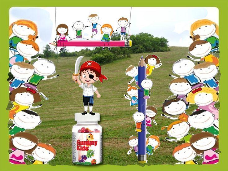 A Gummy Kids gyermekek számára kifejlesztett, kellemes ízű, könnyen rágható gumi multivitamin. A termék nem tartalmaz mesterséges színezéket vagy ízfokozót. Minden egyes Gummy Kids-hez kapsz 1 dinós matricát a 10 darabos gyűjteményből.
