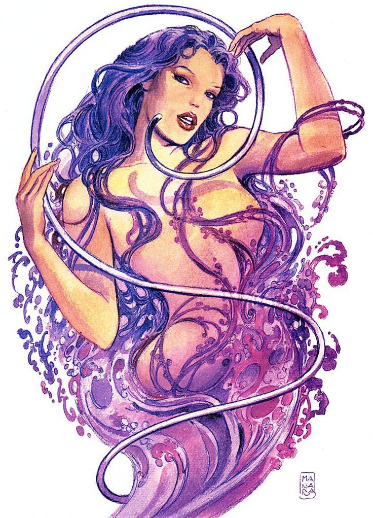 Эротические цветные рисунки