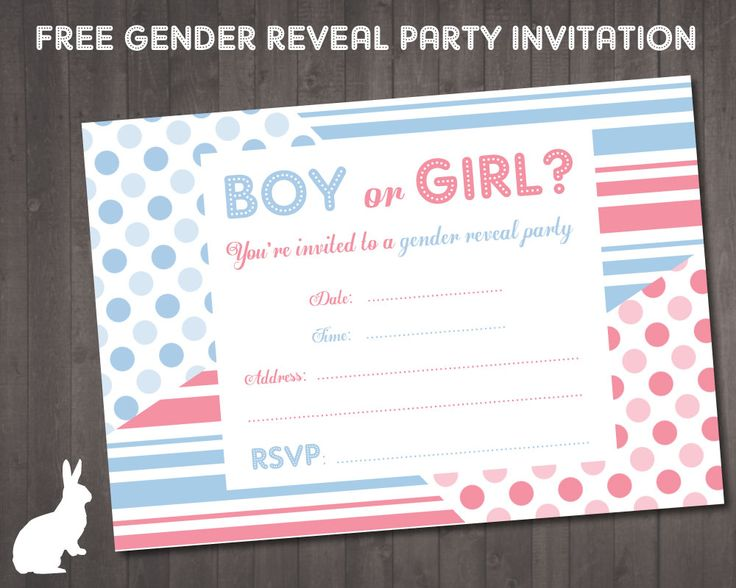 25 best ideas about Gender reveal party invitations – Gender Reveal Party Invite