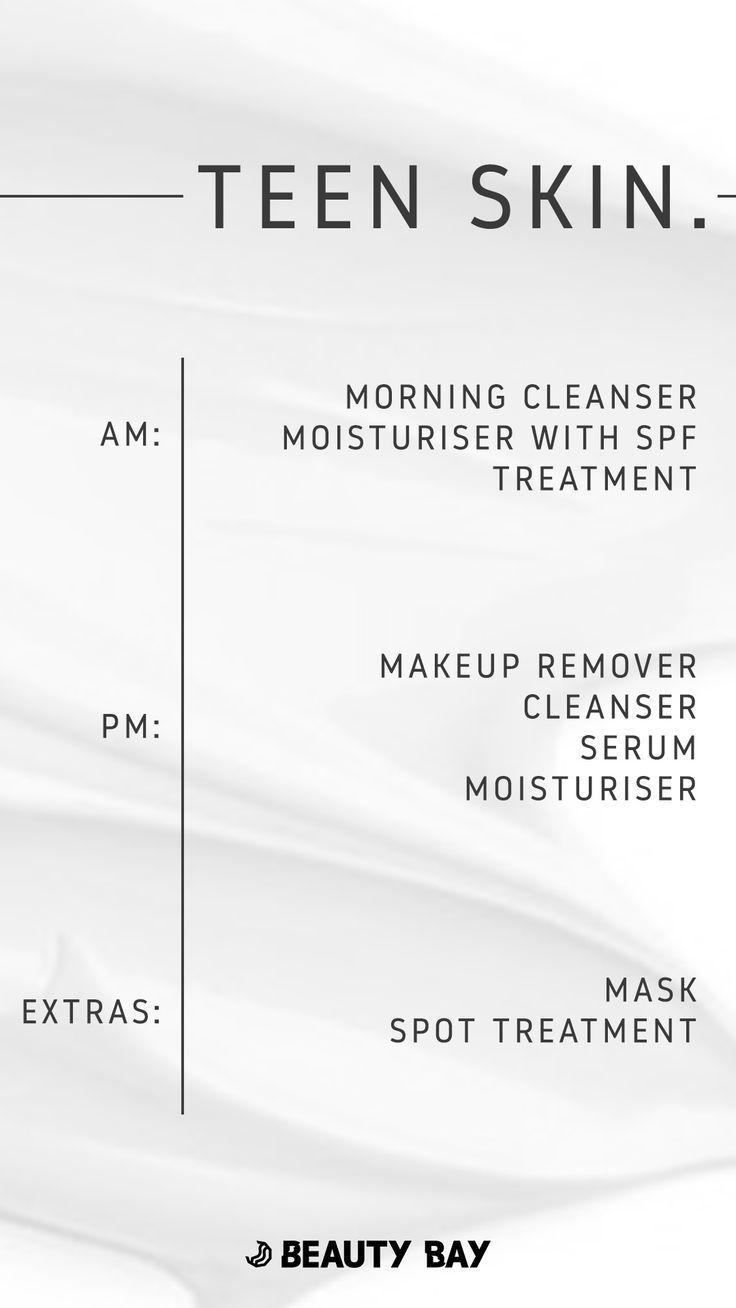 Wie man eine Hautpflege-Routine für jugendlich Ha…