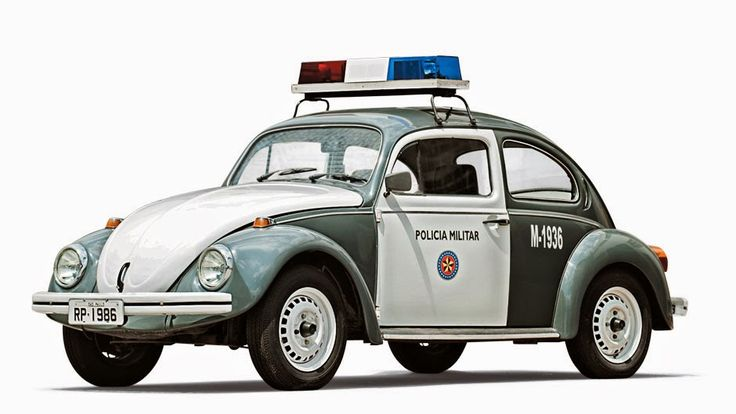 Classic São Paulo police cars from times gone by | Discovering São Paulo | 1986 Police Cruiser