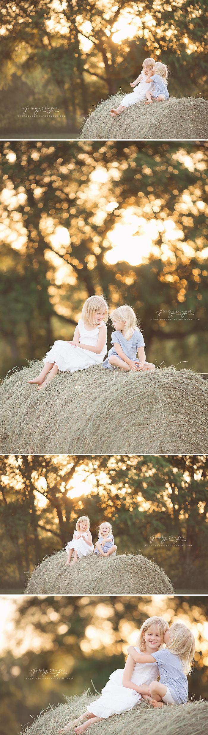 summer farm girls | nashville child photographer - Jenny Cruger Photography | Nashville Newborn Photographer | Babies | Maternity | Families...