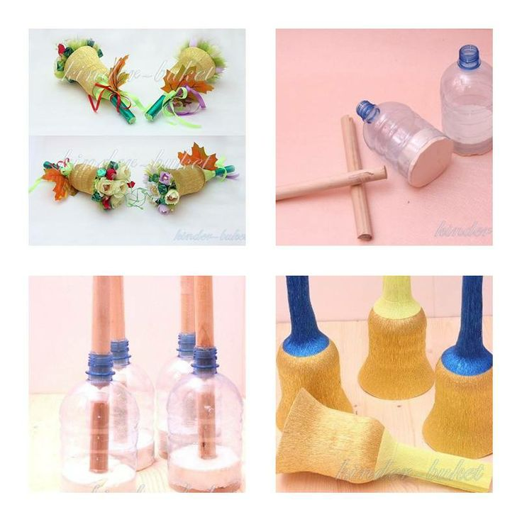 81 best plastic bottle art and craftd images on pinterest crafts how to make plastic bottle bouquet holder step by step diy tutorial instructions how to solutioingenieria Image collections