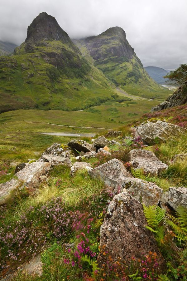 Glencoe, scotland by Damian Kane,