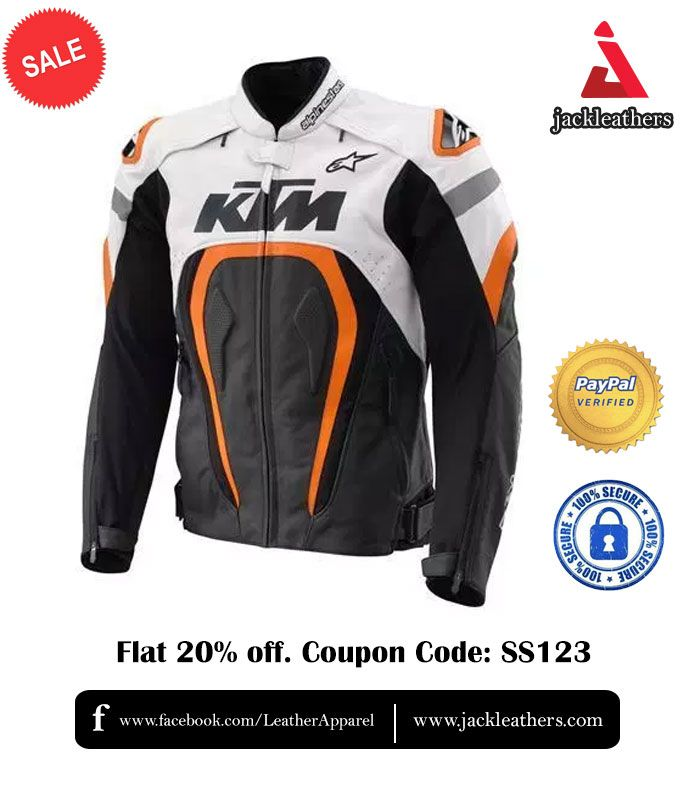 TOP quality KTM Motorbike Genuine Cowhide Leather Racing Suit CE with Armours