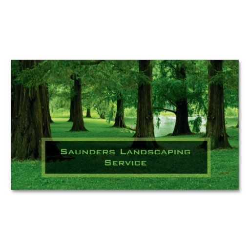 Sj Landscapes And Gardening Services: 1000+ Images About Landscaping Business Cards On Pinterest