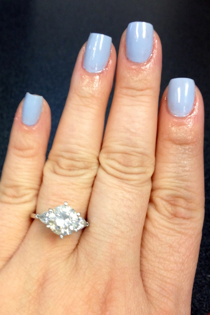 #Essie Lilacism - My nails are almost at that perfect length, I'm about 2 weeks away!