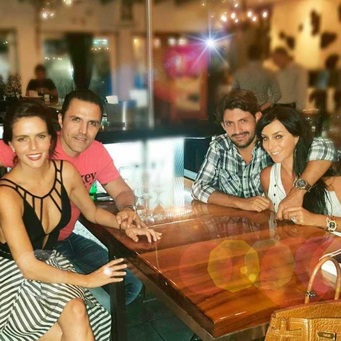 Inés Gómez Mont y Claudia Álvarez disfrutan de una romántica cita doble en Miami