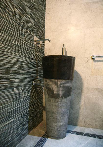 Waschbecken aus natürlichem Marmor