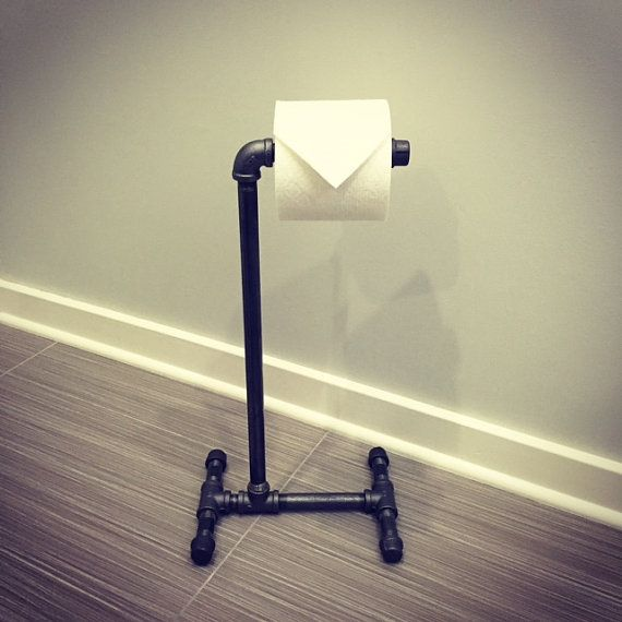 17 best ideas about modern toilet paper holders on pinterest modern toilet roll holders - Toilet paper holder floor stand ...