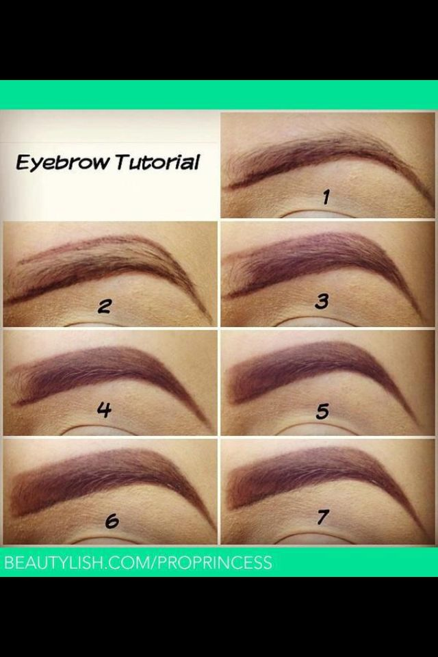 Eyebrow Tutorial: 1000+ Images About Perfect Eyebrows On Pinterest