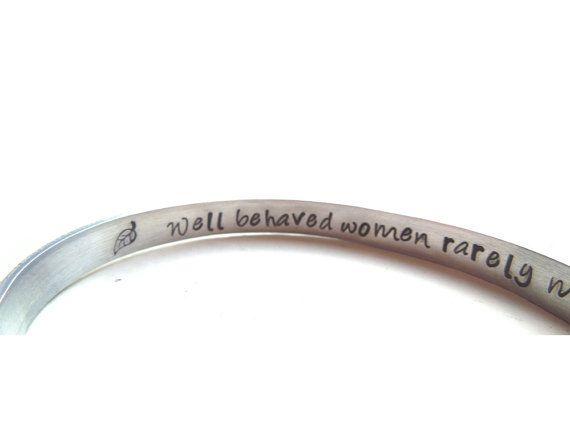 Inspirational Women Bracelet  Sisters  Well by SmittenbyKristin, $16.50