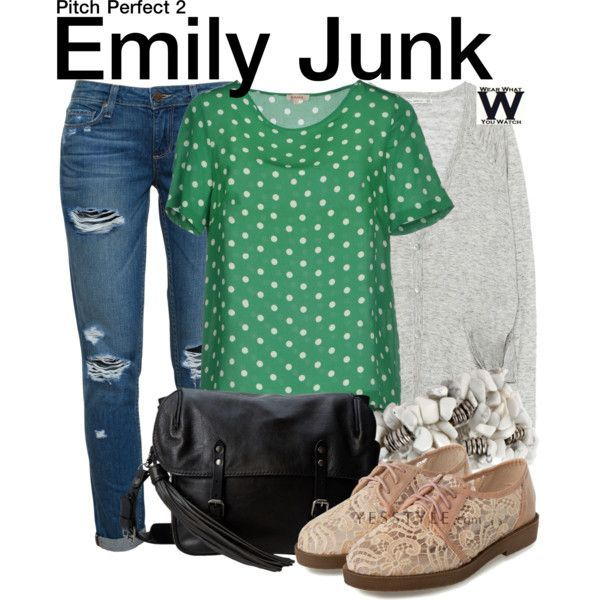Inspired by Hailee Steinfeld as Emily Junk in 2015's Pitch Perfect 2 - Shopping Info!