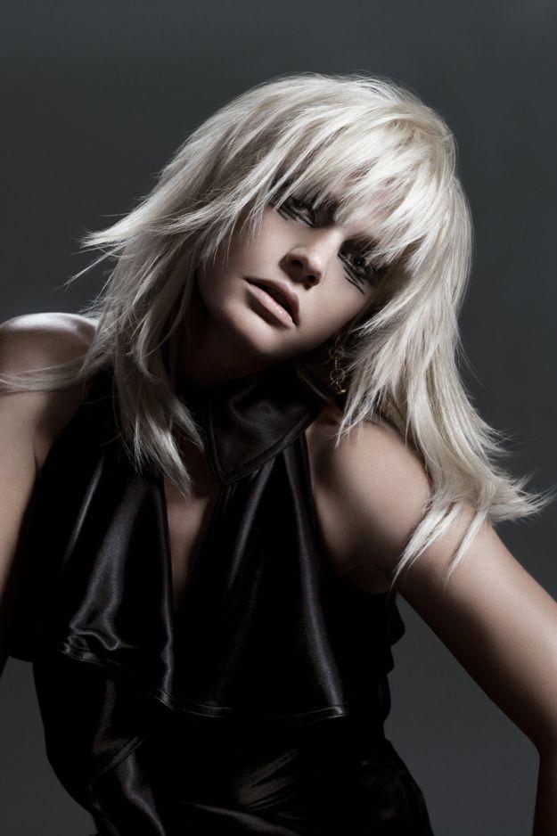 Рваная челка ::: onelady.ru ::: #hair #hairs #hairstyle #hairstyles