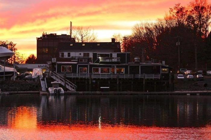 The Black Duck Cafe is a circa 1840s barge that has been converted into a casual restaurant famous for its seafood and tavern fare.  And we do mean famous... Guy Fieri featured this spot on his Food Network show, Diners, Drive-Ins, and Dives.