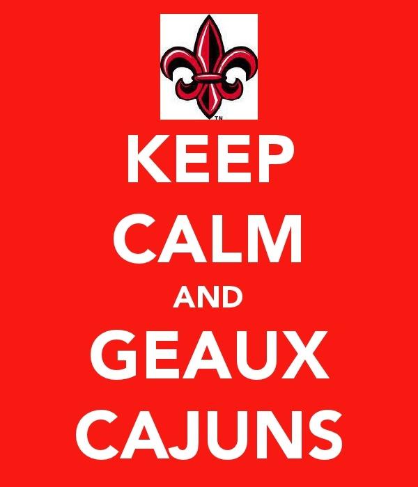 GEAUX CAJUNS!