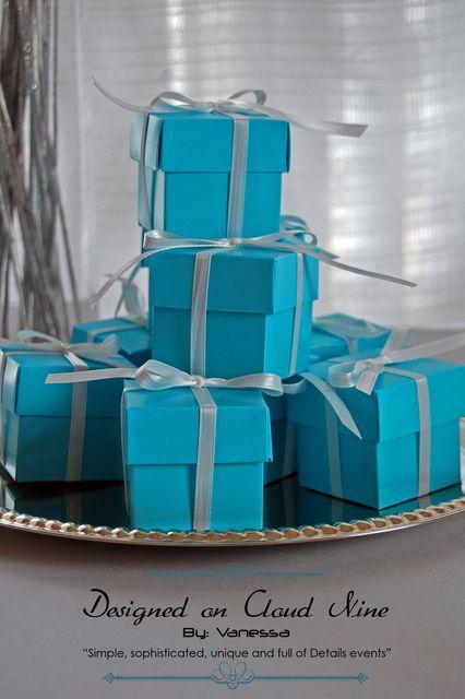 tiffany's inspiration Birthday Party Ideas
