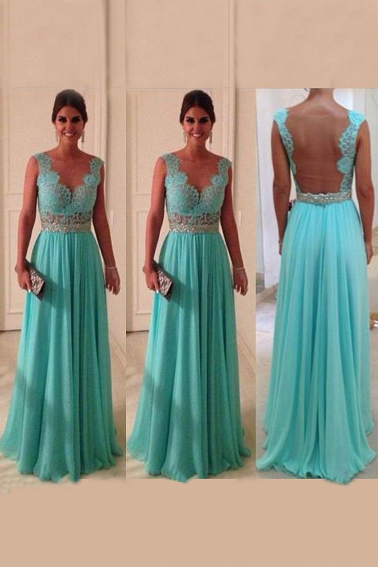 Formal dresses with lace back