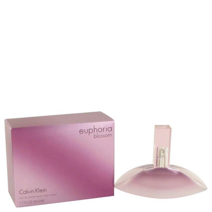Euphoria Blossom By Calvin Klein Eau De Toilette Spray 1.7 Oz