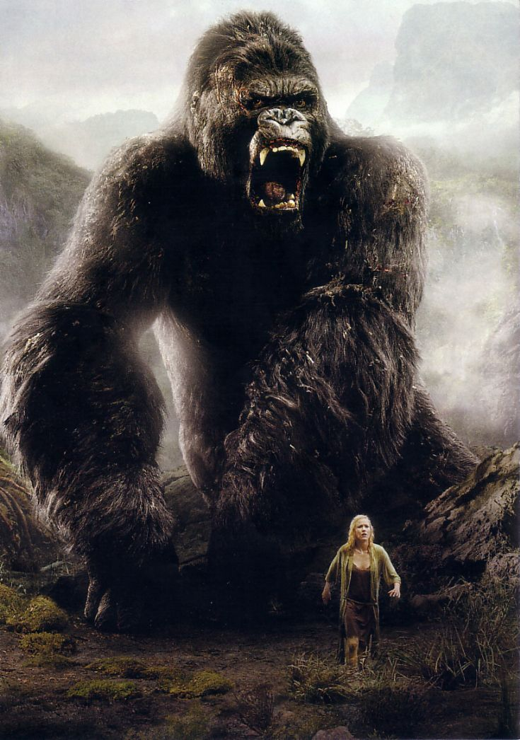 King Kong. Watched this movie last night and it is definitely one of my favorites. So sad, but so good