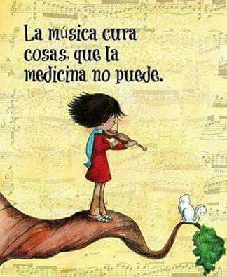 La música es mi aliado, mi alma, mi cómplice al cual que sus letras me identifico y me doy cuenta que la música es el único que me entiende #lamusicacuratodo