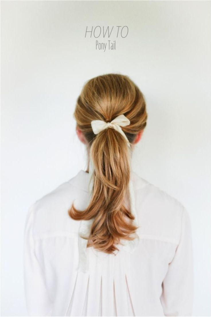 Classic pony tail: http://www.stylemepretty.com/living/2014/01/17/8-hairstyles-every-girl-should-know/