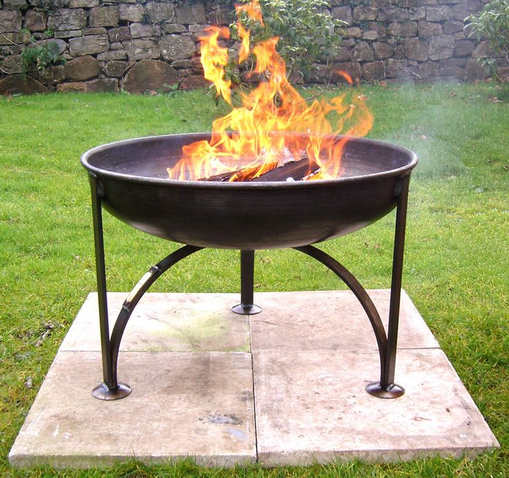British Forge Plain Jane Fire Pit | Fire pit lighting, Fire pit furniture, Outdoor fire pit