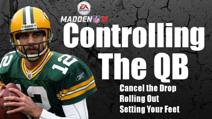 Control your quarterback with these Madden 16 tips. Learn to cancel the QB drop back in Madden 16. Also learn how to roll out and set your feet in the pocket