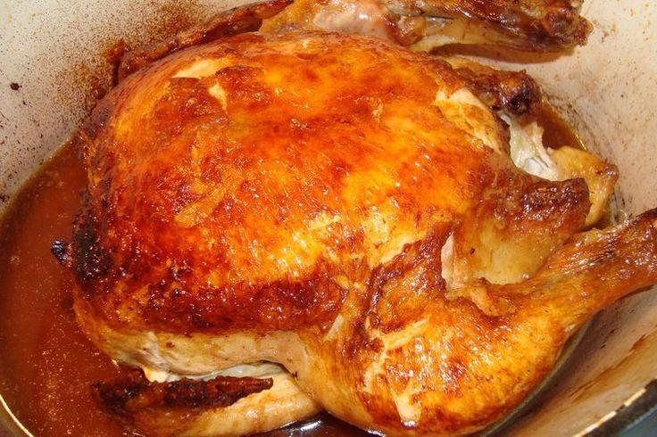 Alice B. Toklas Roast Chicken via Peggy Knickerbocker recipe on Food52