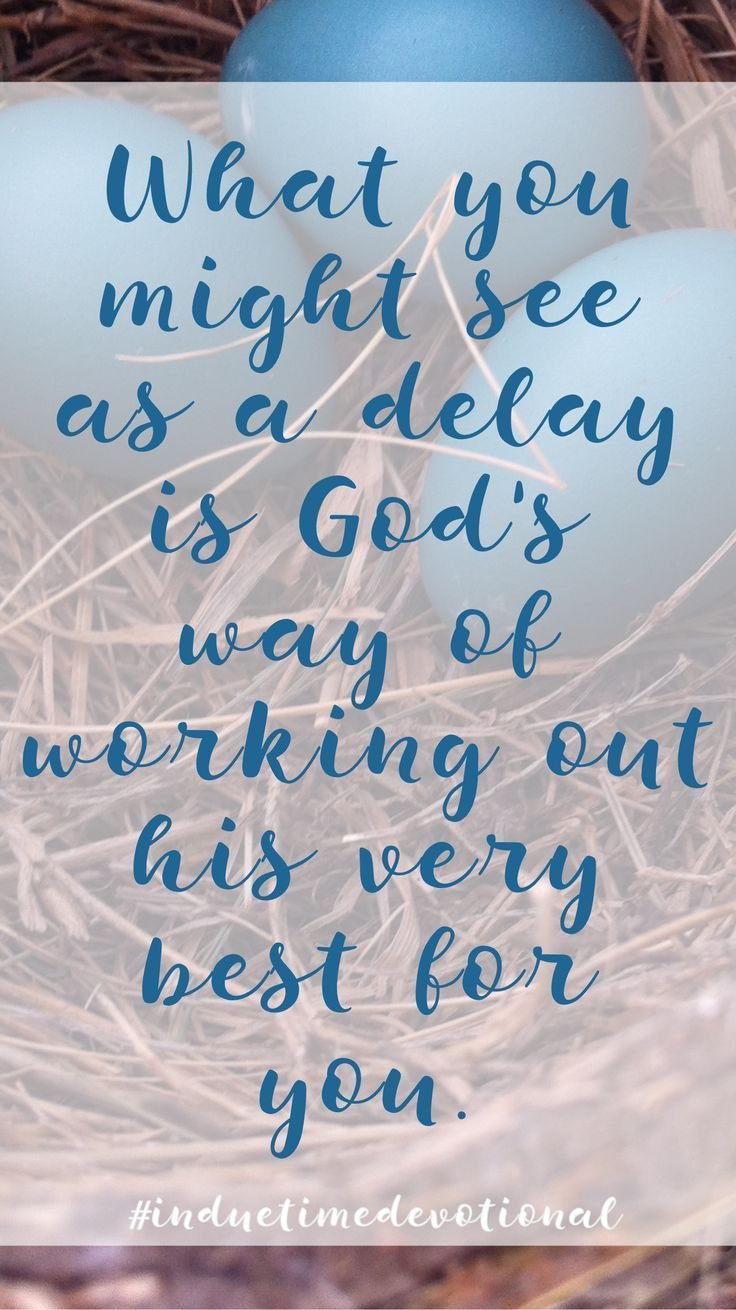 God is working out his very best for YOU! Order #induetimedevotional today!