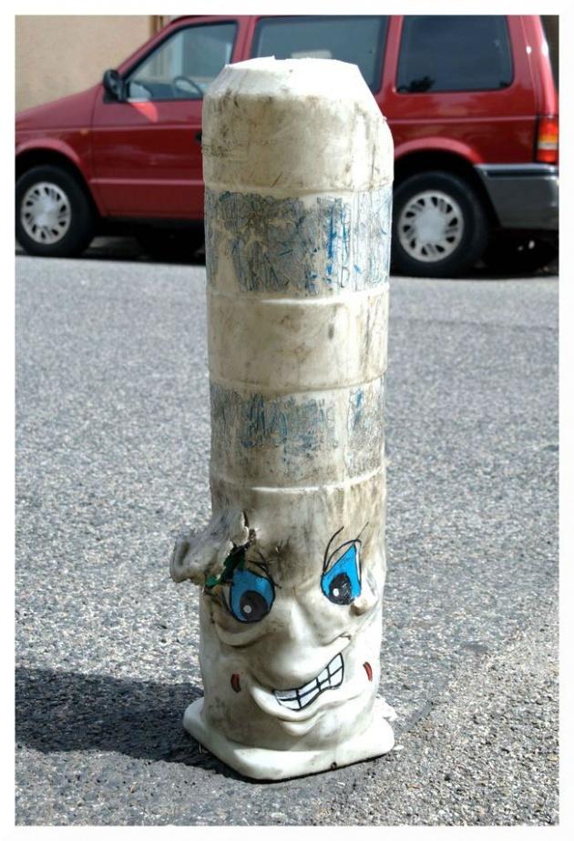 Street art by Ladamenrouge