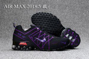 1078c72a300e8a Womens Nike Air Ultra Max 2018. 5 Shox Purple Black Running Shoes ...
