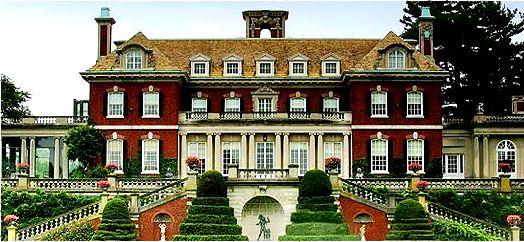 Gold Coast Mansion, Old Westbury Gardens, the Phipps estate. Carnegie Steel Tycoon. Old Westbury, Long Island, New York.
