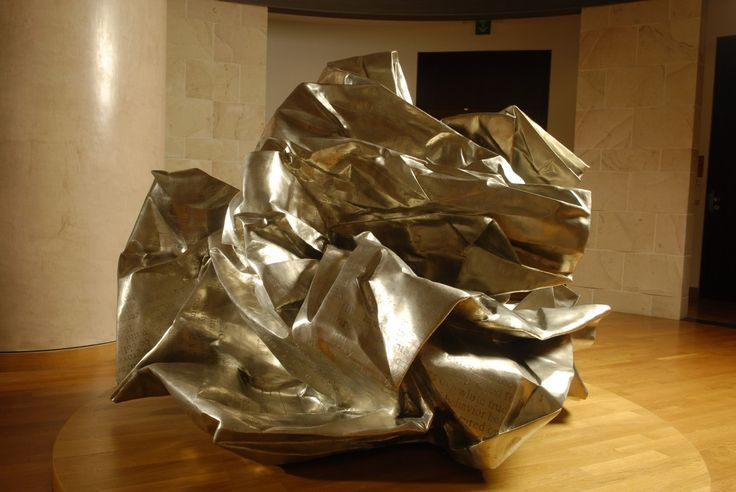 WANG DU HERALD TRIBUNE INTERNATIONAL, 2005 Sculpture, 180 x 180 x 180 cm © Adagp, Paris, 2007