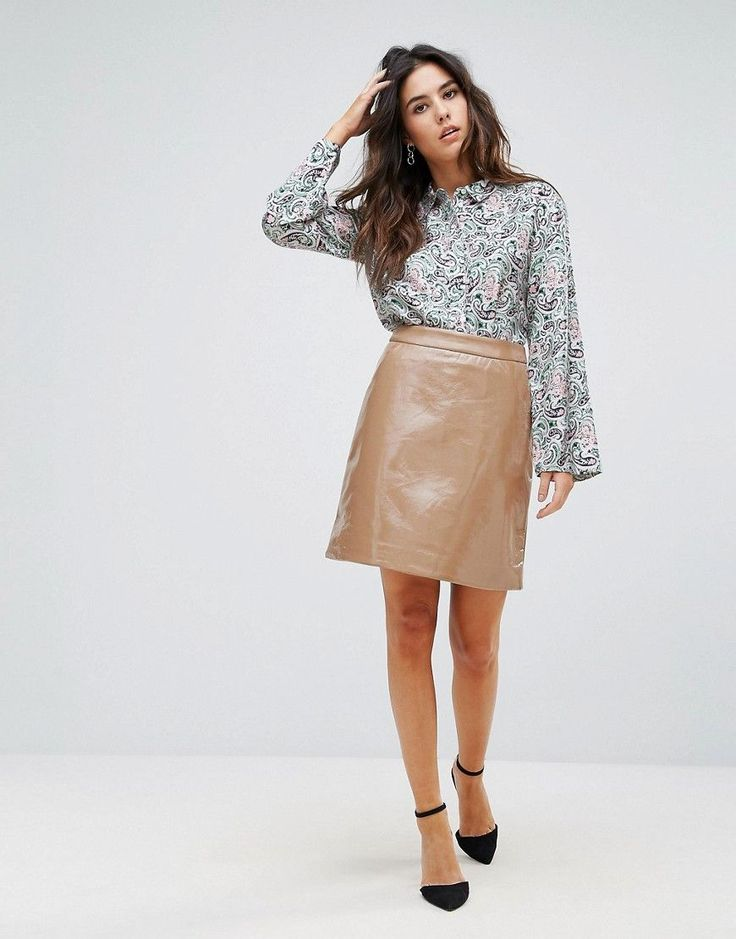 Warehouse Woodblock Paisley Silk Shirt - Multi