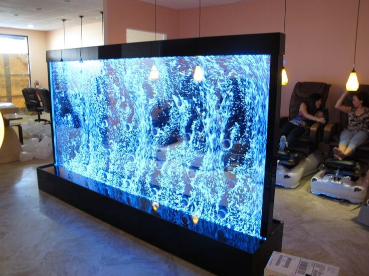plexiglass water wall | ... 1200 × 900 in Acrylic Bubble Walls with Color Changing Led Lighting