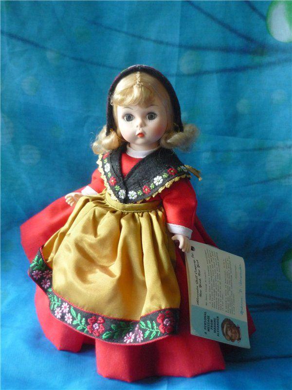 "Кукла Madame Alexander ""Швеция"""