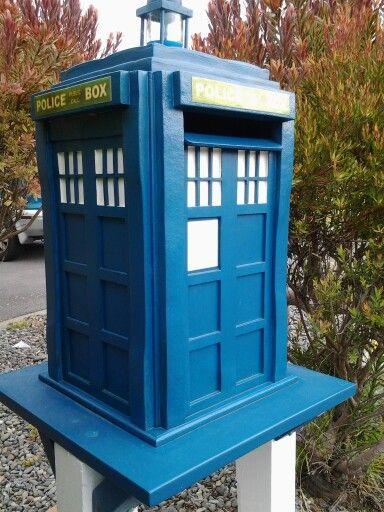 Tardis letterbox