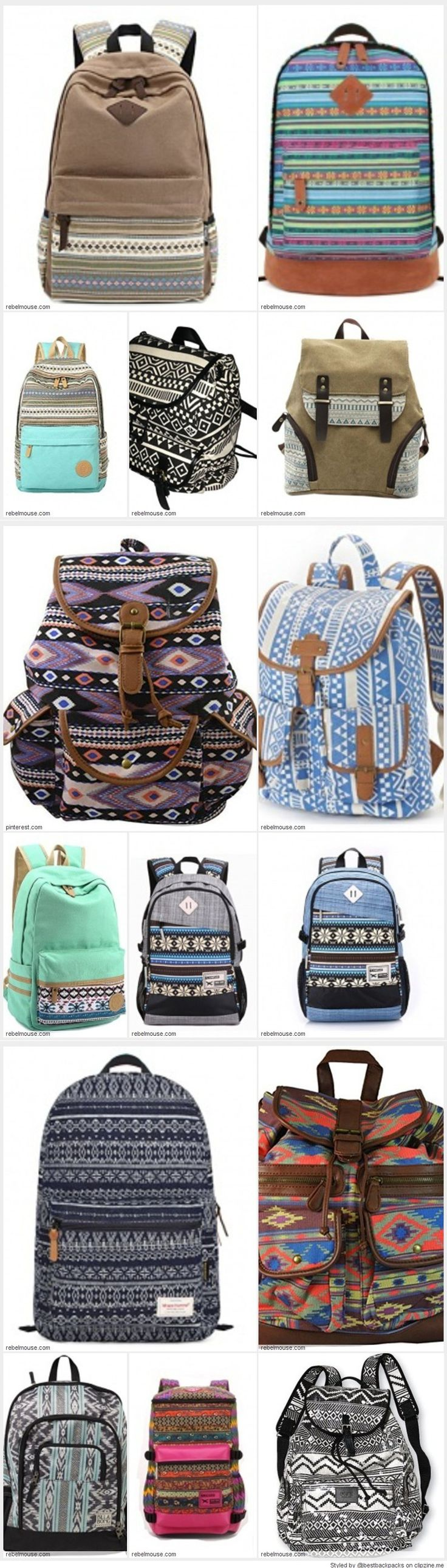 Cool Aztec Backpack Designs for School  - Best Styles