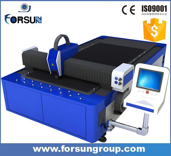 China supplier Metal fiber 500W 1000watt 3KW laser cutting machine for stainless steel aluminum
