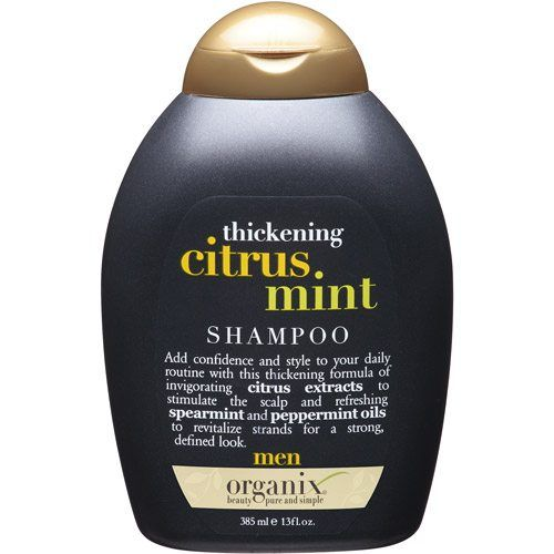 organix hair thickening shampoo for men