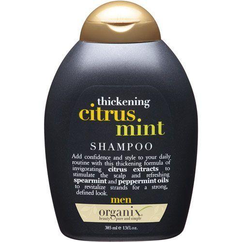 organix hair thickening shampoo for men