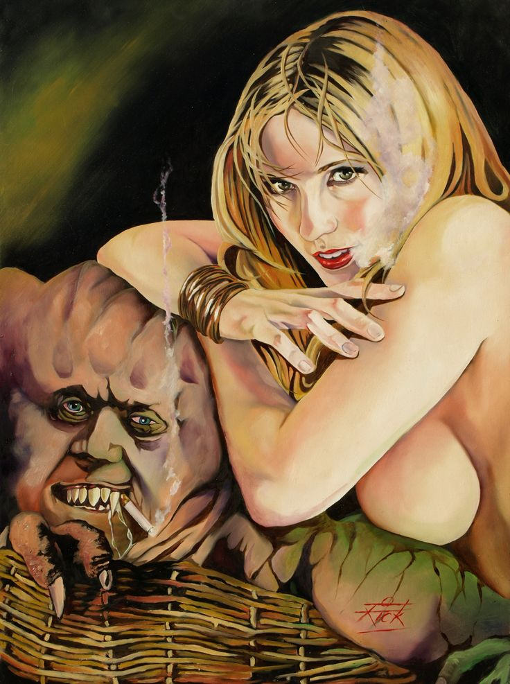 Can Rick fields art erotic remarkable, very